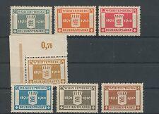 Württemberg Dienst 123-129 kompletter Satz postfrisch (B00445)