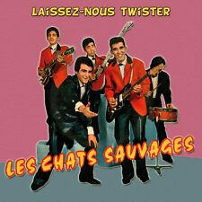 CD Les Chats Sauvages - Laissez-nous twister : 2ème album + 11 Titres Bonus