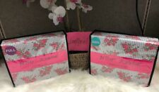 NEW Betsey Johnson Full OR Queen Size Floral PRETTY POSIE Rose Stripe Sheet Set