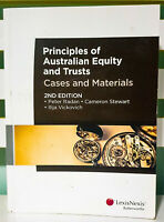 Principles of Australian Equity and Trusts: Cases and Materials; 2nd Edition!