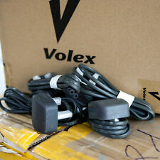 Authentic Volex Figure-8 1.5m 2-Pin UK HK SG AC Power Cable Cords Plug 2.5A 250V