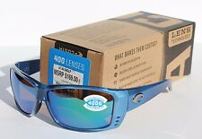 COSTA DEL MAR Cat Cay POLARIZED Sunglasses Sky Blue/Green Mirror 400G NEW $169