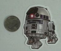 R2-D2 sticker star wars droid skate cell laptop bumper decal