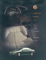 Chrysler Cirrus Prospekt CDN 1997 brochure Autoprospekt Auto Pkw broschyr US Car