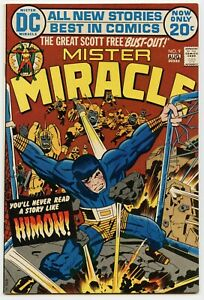 MISTER MIRACLE #9 D.C. - 1971 - 9.2 to 9.6  NM+
