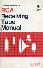 RCA RECEIVING TUBE MANUAL RC-26 1968 PDF