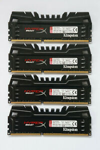 32GB Kingston HyperX Beast DDR3 Memory 1600MHz CL9 PC3-12800 KHX16C9T3K4/32X