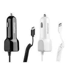 Luxmo  2.1A Car Charger +USB Port for Samsung Galaxy S20 S20 Plus S20 Ultra