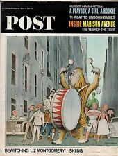 1965 Saturday Evening Post March 13-TV's Bewitched; Madison Avenue;Lake o Ozarks