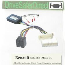 ANAlogz-SWC-8418-12 Stalk Adaptor for Aftermarket ISO Radio/Renault Master 15-