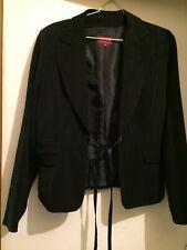 Superbe veste habillée La City noire fils argentés 44 (T4) soirées, mariages