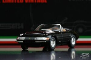 [TOMICA LIMITED VINTAGE NEO 1/64] Ferrari 365 GTS4 Early version (Black)
