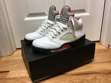 "Air Jordan V 5 Retro ""Fire Red"" Size:10.5, PRE-OWNED"