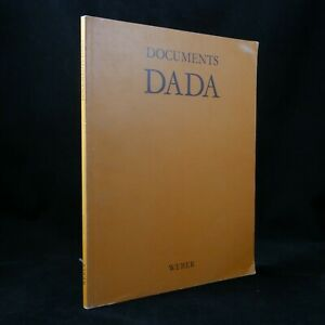 🌓Documents DADA Weber 1974 tracts manifestes prospectus pamphlets dadaïstes