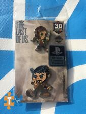 "PlayStation Experience 2016 The Last Of Us Exclusive Joel & Ellie Pin Set ""NEW"""