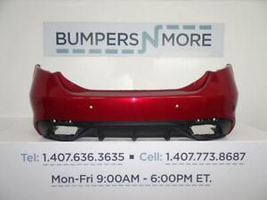 OEM 2017-2018 Alfa Romeo Giulia Base/Ti w/Sensor Holes Rear Bumper Cover