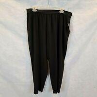 Alfani Petite Size PET LG Black Pants NWT
