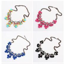 Moda Dije Joyería Colgante Cadena Cristal Gargantilla Distintivo Collar