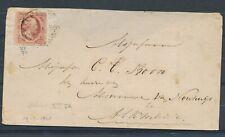 NR. 2 L PL. VI, POS.72 PR.EX. MET ROTTERDAM-C 19/3 1861 OP ENV.- ALKMAAR Zk372