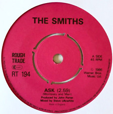 """THE SMITHS - Ask (7"""") (G/NM)"""