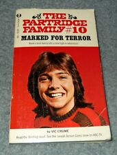 David Cassidy Partridge Family #10 Marked For Terror Paperback Book Vic Crume
