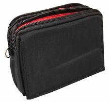 Universal Stoff Tasche quer für HTC Desire X in schwarz Handy Hülle Case