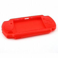 Super Red Silicone Protective Rubber Skin Case Cover For Sony PSP 2000 3000 USA
