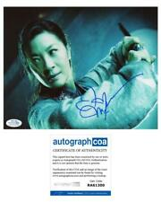 """Michelle Yeoh """"Crouching Tiger, Hidden Dragon"""" AUTOGRAPH Signed 8x10 Photo ACOA"""