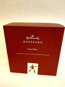 Hallmark Marvel Iron Man Metal Ornament Keepsake 2019  New in Box ALL METAL!