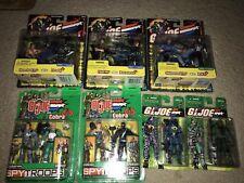 Lot of GI Joe vs Cobra Spy Troops Action Figure Moc BAT Baroness Firefly More