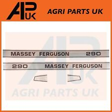 Massey ferguson 290 emblème decal sticker set bonnet autocollants mf tracteur