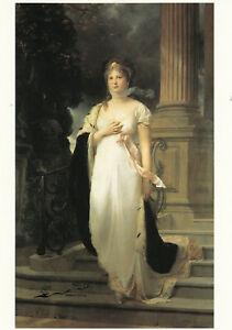 Postkarte: Gustav Richter - Königin Luise / 1879