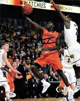 Jawun Evans signed 8x10 photo PSA/DNA Oklahoma State Cowboys Autographed