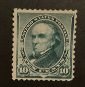 TDStamps: US Stamps Scott#226 Unused NG Tiny Thin