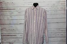 Lucky Brand Men's Size Medium Shirt Button Down Multi-color Stripe