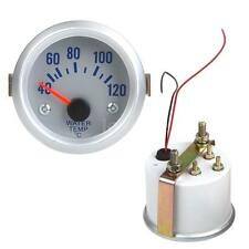 "HOT Water Temperature Meter Gauge w/ Sensor for Auto Car 2"" 52mm 40-120°C LS"