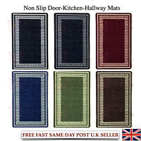 Machine Washable Kitchen Mat Hall Door Large Runners Small Non Slip Rug Carpet