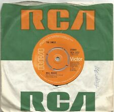 The Sweet - Hellraiser original 1973 7 inch vinyl single