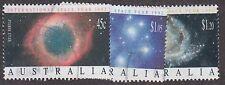 Australia, 1992, International Space Year, SG1343-1345, Sc 1258-1260, used.