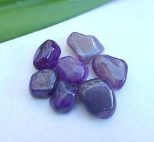 Purple Agate Tumbled Stone - 098S1E