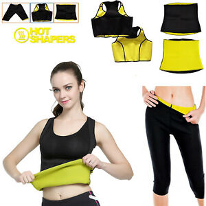 Neoprene Hot Thermo Body Shaper Gym Vest Slimming Sweat Sauna Waist Pant Workout