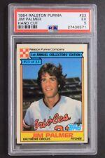 Jim Palmer Orioles HOF 1984 Ralston Purina #23 Graded Card PSA 5