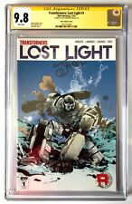 TRANSFORMERS LOST LIGHT #1 CGC SS 9.8 1:50 POPE VARIANT SIGNED JACK LAWRENCE