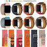 Leather Single/double Tour watch iWatch wrist Band Strap for Apple Watch 1/2/3/4