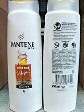 3 pz Pantene Pro-v Shampoo Acqua Dura Difesa 5 Protegge Capelli Opachi Secchi