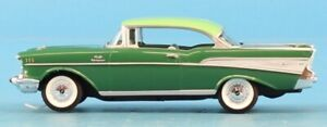 Revell 1:25 '57 Chevrolet Bel Air Hard Top Green Promo Model Built Model #0906