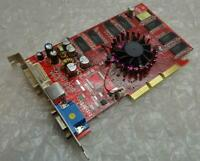 128MB Gainward G331110FP0B4 Nvidia FX5600 DVI VGA AGP Graphics Card