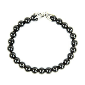 DAVID YURMAN Men's Black Onyx Spiritual Bead Bracelet $395 NEW