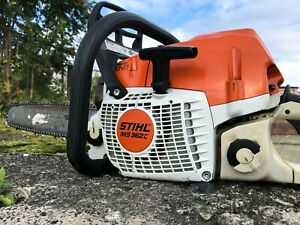 """Stihl MS 362C Chainsaw with 16"""" Bar and Chain Excellent Condition"""