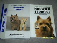 Norwich Terrier Comprehensive Owner'S Guide Limited Edition - 2 Hc Books